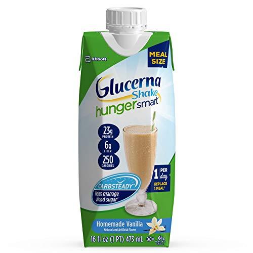 Glucerna 香草味代餐奶, 帮助控制血糖