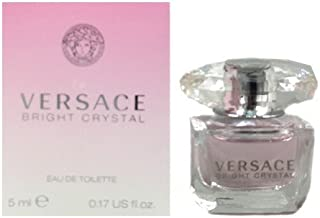 BRIGHT CRYSTAL by Versace 0.17 oz EDT SPLASH NEW in Box for Women