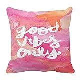 Good Vibey - Funda de almohada, diseño oney