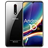 Smartphone Débloqué 5G WiFi, Android 10.0 Téléphone Portable, Octa-Core, 6 Go de...