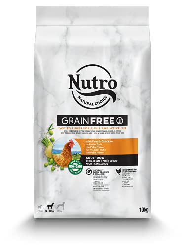 Nutro Grain Free Adulto Pollo Razas Medianas 10 kg ✅