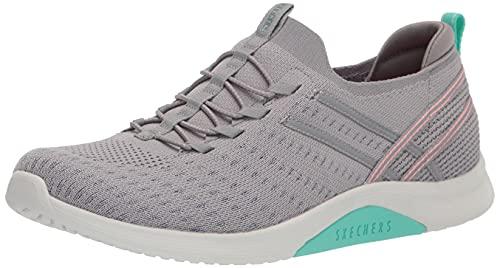 Skechers Zapatilla deportiva para mujer, gris (gris, menta ), 38.5 EU