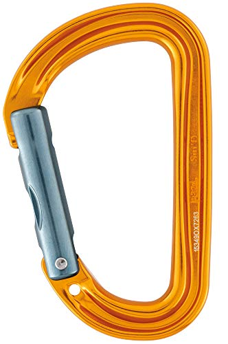 PETZL SM'D Wall Schraubkarabiner, Yellow, One Size
