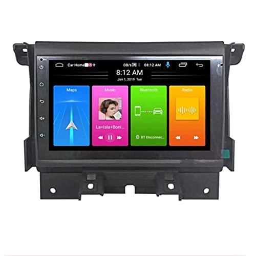 ZHANGYY Estéreo para automóvil con Android Nav - Aplicable Compatible con Land Rover Discovery 4, 7 Pulgadas Touch Sn Unidad Principal de Doble DIN Navegación GPS DSP Bluetooth Car Auto Play MirrorL