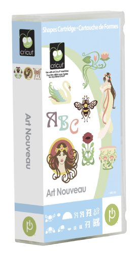 Cricut Art Nouveau Cartridge