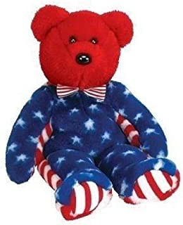 Beanie Buddies Ty Liberty - Bear Red