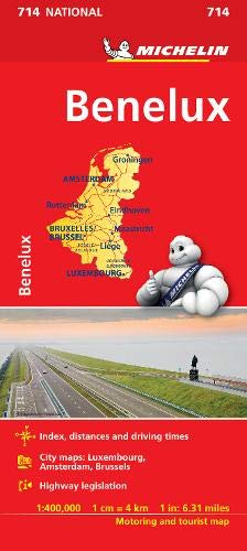Image OfMapa National Benelux (Mapas National Michelin)
