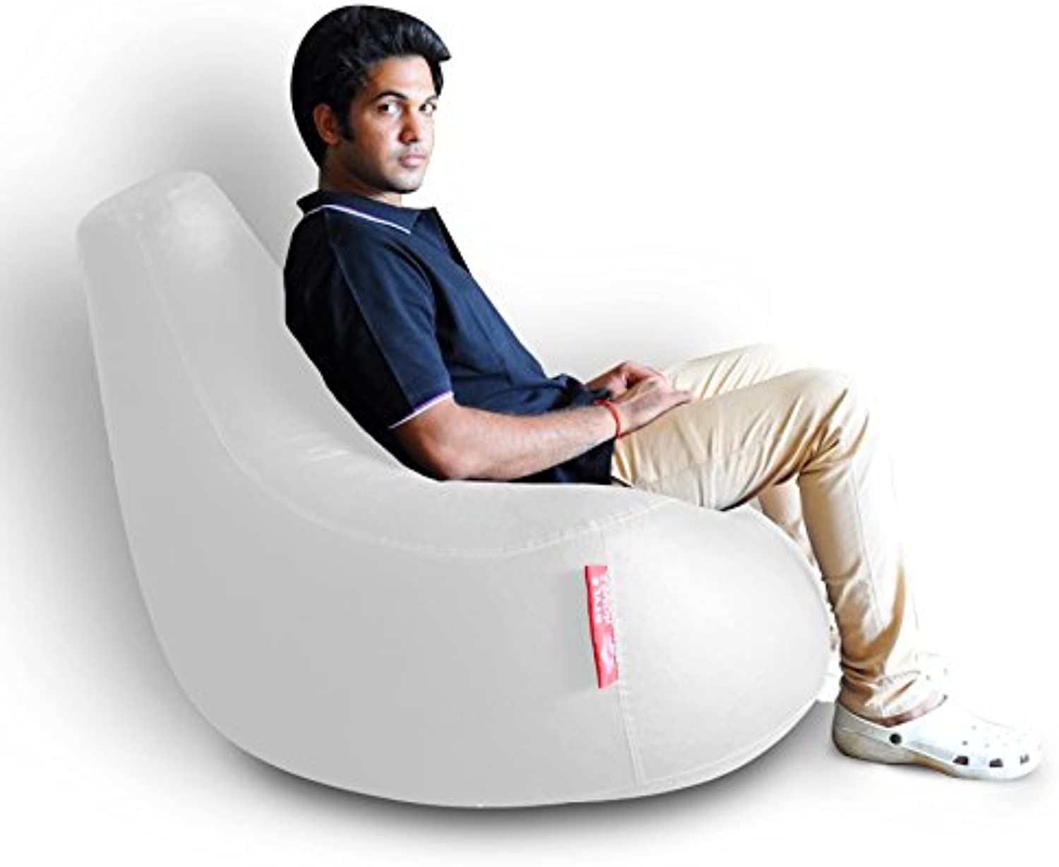 Style Homez Gamer Chair XXL Size Elegant White Cover Only