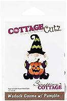 """CottageCutz Dies-Warlock Gnome W/Pumpkin 1.5""""X2.6"""""""