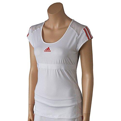 ADIDAS Tennis W BARRICADE CAPS (WHITE/ CORE ENERGY) - M