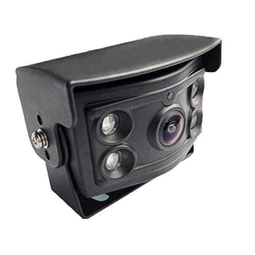 CMOS l'angle de Vue des Nouveaux Vision Nocturne caméra Haute définition avec Super IR imperméables 4 Broches Aviation caméra arrière connecteur VR pour inverser Une remorque de Camion Autobus Lourds