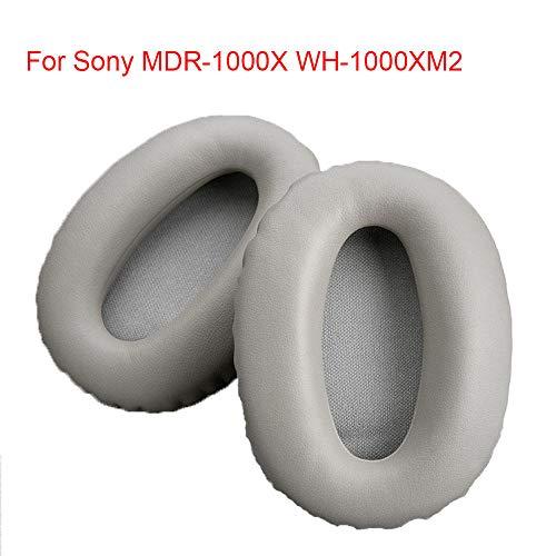 Protein lederen oortelefoon cover Sponge Cover, Geschikt voor Sony Mdr-1000X, Wh-1000Xm2 oor kussen, Beige