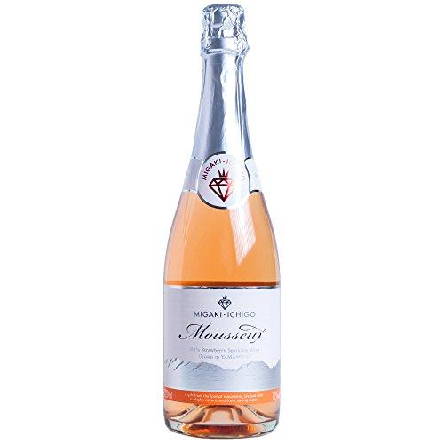 ミガキイチゴ・ムスー (MIGAKI-ICHIGO Mousseux)イチゴ スパークリング ワイン