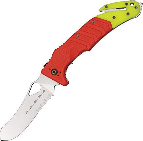 Sports Service Fox Knives FX-447 C Fox ALSR 2 Folding Knife, Red/Yellow