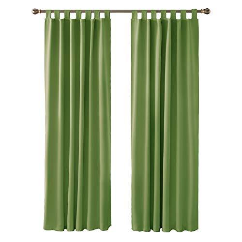 cortinas habitacion matrimonio verde