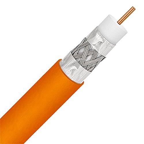 RG-6/rg-11Bulk coaxial cable de audio/vídeo de telecomunicaciones