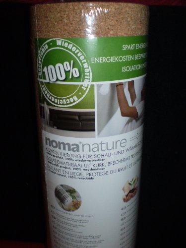 NOMA NATURE - Korkisolierung - Wand- und Bodenisolierung - 2mm - 5m²