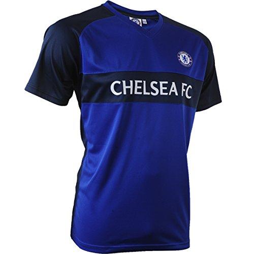Chelsea F.C. cfc-sa-3202Trikot kurzärmlig Unisex S blau