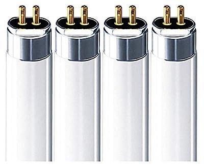 FP14/841/ECO (4 Pack) 14 Watt T5 Fluorescent Tube Light Bulb F14T5 14W 4100K Replaces F14W/T5/841/ECO FL14/T5/841 F14T5/841/ALTO F14T5/841/ENV