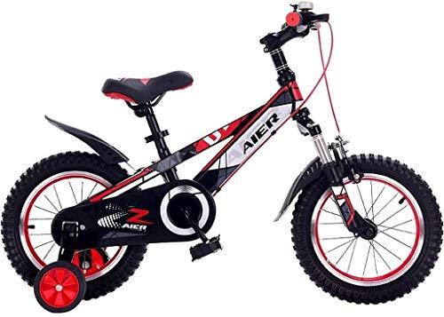 Xiaoyue Fahrräder for Kinder Pedal-Fahrrad-Jungen und Mädchen Indoor Heimtrainer Kinder im Freien Kindergarten Fahrrad 14/16/18/20 Zoll Tricycle (Farbe: Rot, Größe: 20inch) lalay