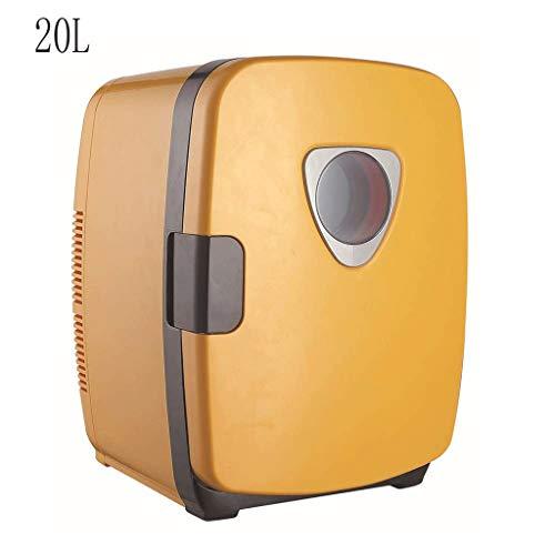 ZJHDX thermo-elektrische mini-koelkast en -verwarmer - voor huis, kantoor, auto, woonhuis of boot - compact en draagbaar - AC- en DC-netkabel