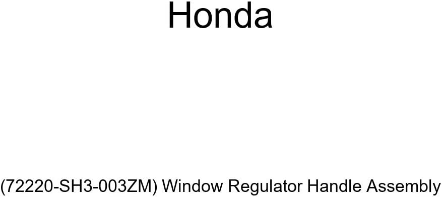 Genuine Honda 72220-SH3-003ZM Popular popular Window Max 71% OFF Assembly Regulator Handle