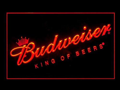 Budweiser King Of Beers Bar Pub Led Light Sign