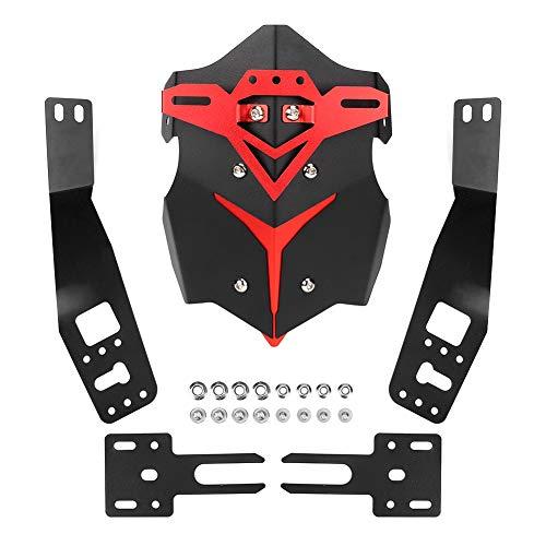 Hlyjoon Moto Guardabarros trasero Protector de guardabarros Aleación de aluminio Exterior modificado...