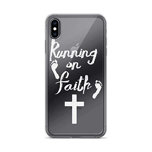 Running on Faith Christian Faith - Funda para iPhone 6 Plus/6s Plus Pure