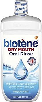 Biotene Oral Rinse Mouthwash for Dry Mouth 33.8 fl oz