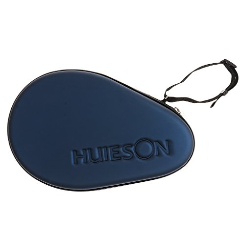 Toygogo Tischtennisschläger Hülle Tischtennis Tasche Schlägerhülle - Dunkelblau