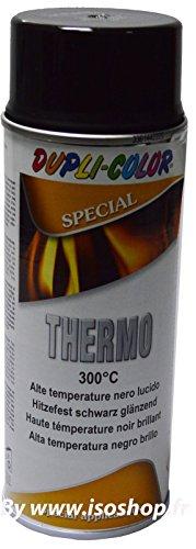 Super Hitzelack Thermolack Hochtemperatur Schwarz Glänzend 300°C Auspufflack 400ml