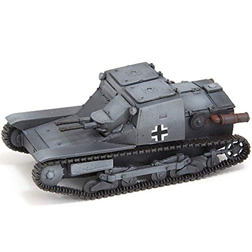 Yxxc Construciton Mechanical Model 1/72 Scale Diecast Tank Plastic Model, CV33 Light Tank Germany, Military Toys and Gifts, 2.2Inch X 1.1Inch