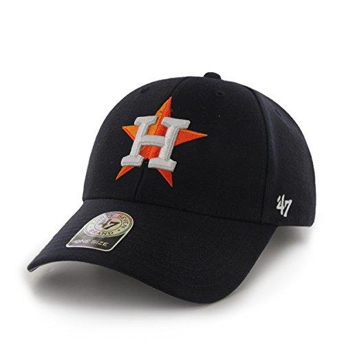 '47 Brand MLB Houston Astros Juke MVP Gorra Ajustable, Un tamaño, Azul...