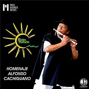 Homenaje Alfonso Cachiguano