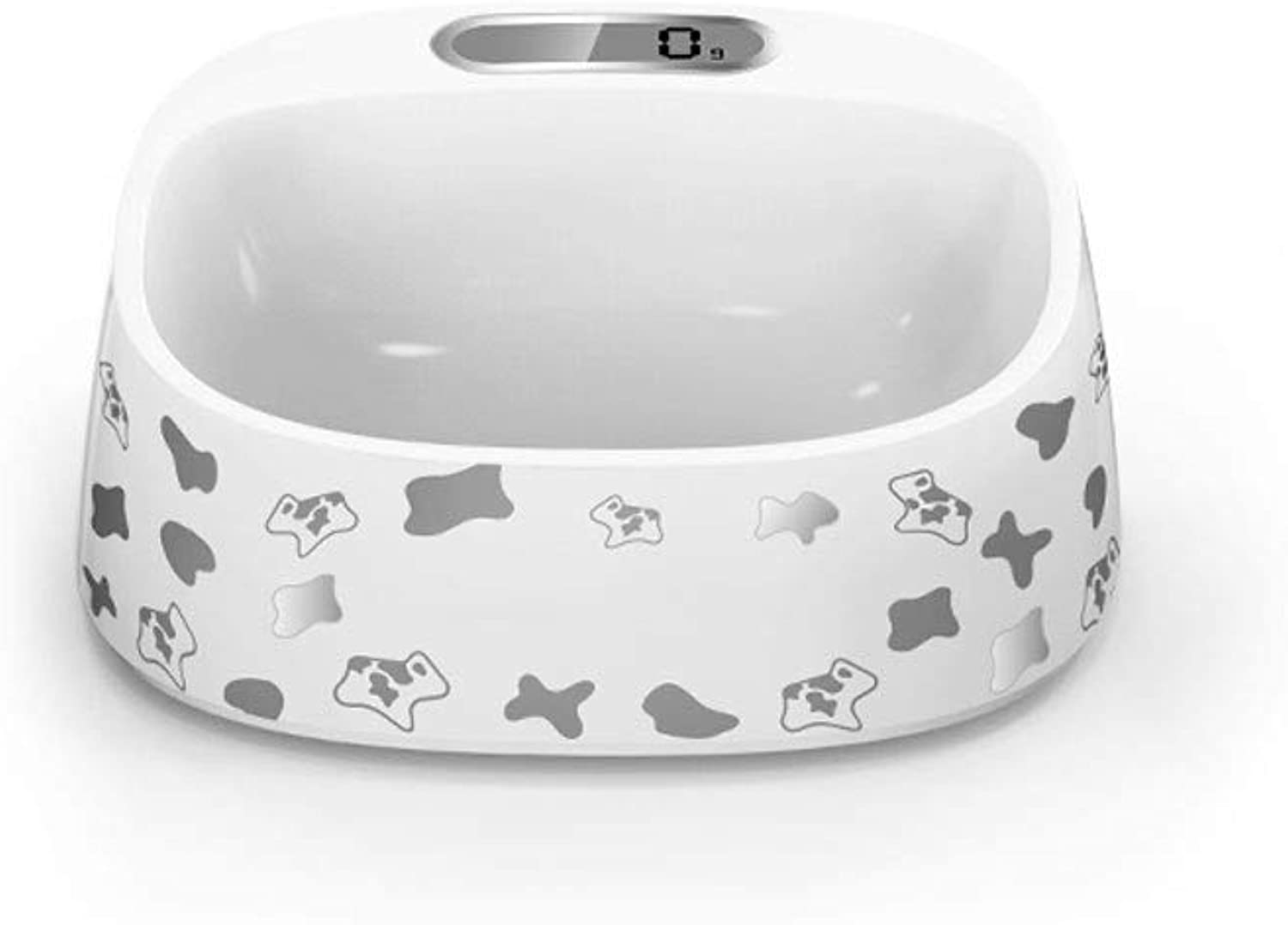 Pet Smart Weighing Cat Bowl Dog Bowl Dog Bowl Cat Bowl Dog Bowl Bowl Cat Bowl Bowl Can Be Weighed, Body Wash, Recommended Food Intake, Healthy Feeding ( color   C )