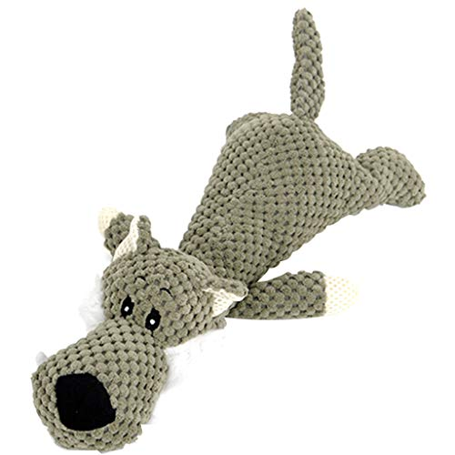 Yowablo Katzenspielzeug Ball Hundespielzeug Hundeball Katzenball Hunde Kauspielzeug Saugnapf Hund Zahnbürste Spielzeug Snackball Hund Frisbee Katzen (28cm,Grün)