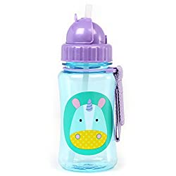 Skip Hop Zoo Straw Sippy Cup Bottle