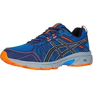 ASICS Men's Gel-Venture 7 Running Shoes, 9.5, Electric Blue/Sheet Rock