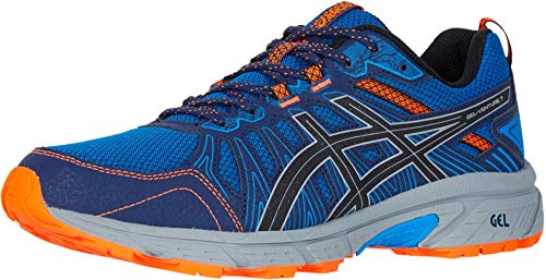 ASICS Men's Gel-Venture 7 Running Shoes, 9M, Electric Blue/Sheet Rock