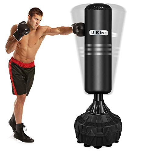 U'king Free Standing Punch Bag, Heavy Duty Punching Bag with Strong Suction...