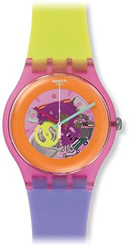 Swatch Reloj de Cuarzo Unisex Dip In Color 41 mm