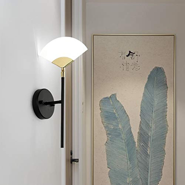 Moderne Wandleuchte Form Fan Einfache Kreative Nordic Lampe LED-Licht 6 Watt Für Schlafzimmer Nacht Korridor Küche Kunst Dekoration