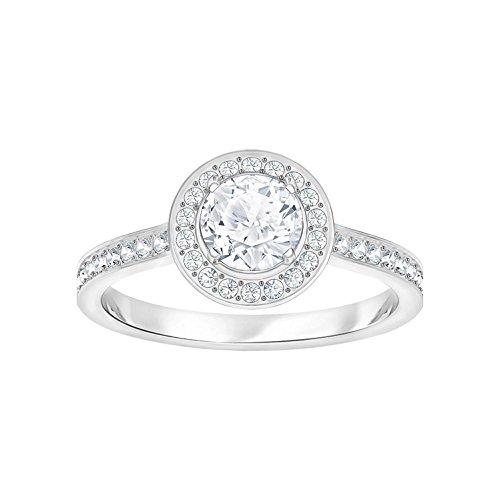 Swarovski Damen-Ringe Edelstahl Kristall '- Ringgröße 52 5409189