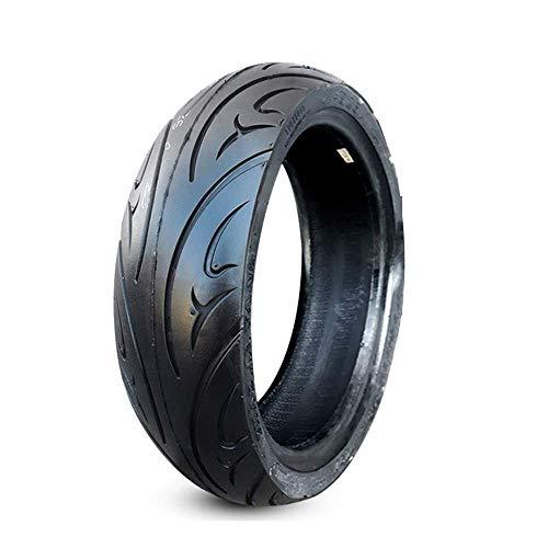 DGHJK Neumáticos para Scooter eléctrico, 100/60-12 Neumáticos de vacío Resistentes al Desgaste, a Prueba de explosiones, Antideslizantes y duraderos, adecuados para Motocicletas eléctricas (con boqui