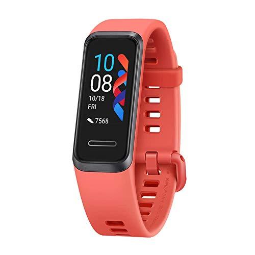 Huawei Band 4 - Pulsera de Actividad, Pantalla Táctil, Seguimiento de actividad diaria, Monitor de Ritmo y Sueño - Amber Sunris