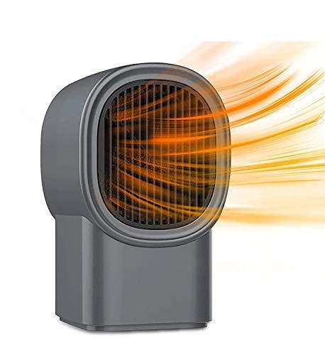 Calentador de velocidad inteligente Potente calentador doméstico portátil - Alta eficiencia de calefacción, 3 segundos de calentamiento rápido - Calefacción de cerámica PTC de 3 niveles ajustable