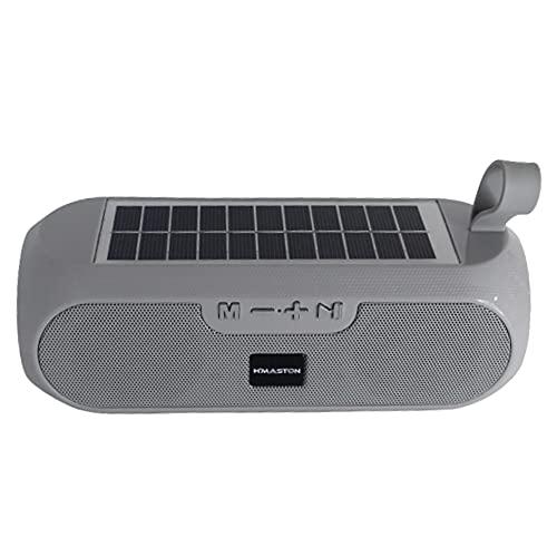 Caixa de som caixinha portátil com bluetooth carregamento solar fm h'maston yx-182