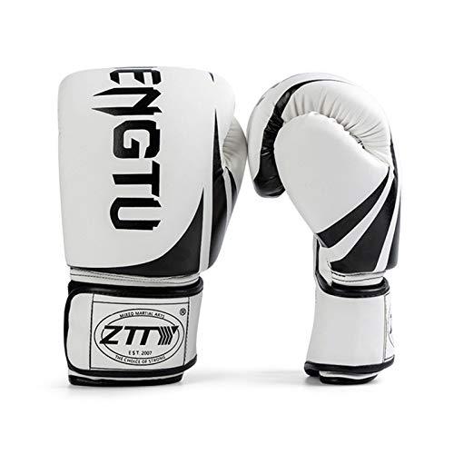 Tomshin Luvas de boxe Luvas de treinamento de boxe para homens e mulheres Luvas de boxe Luvas de luta Luvas de saco pesado para Muay Thai Boxe Kickboxing