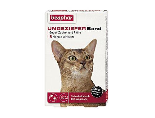 Beaphar 75402 Ungezieferhalsband für Katzen, 35 cm